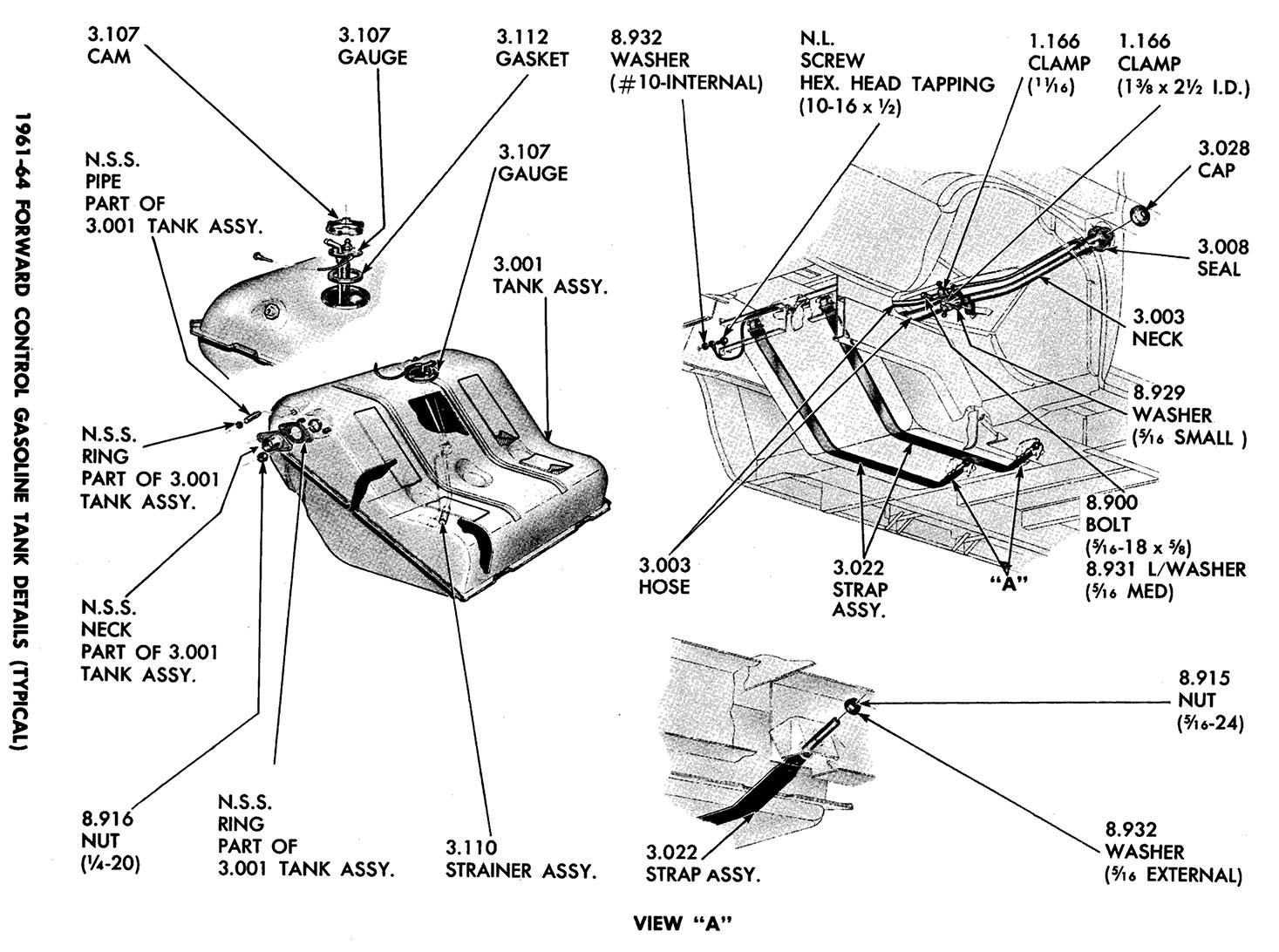 corvanantics manuals gas tank