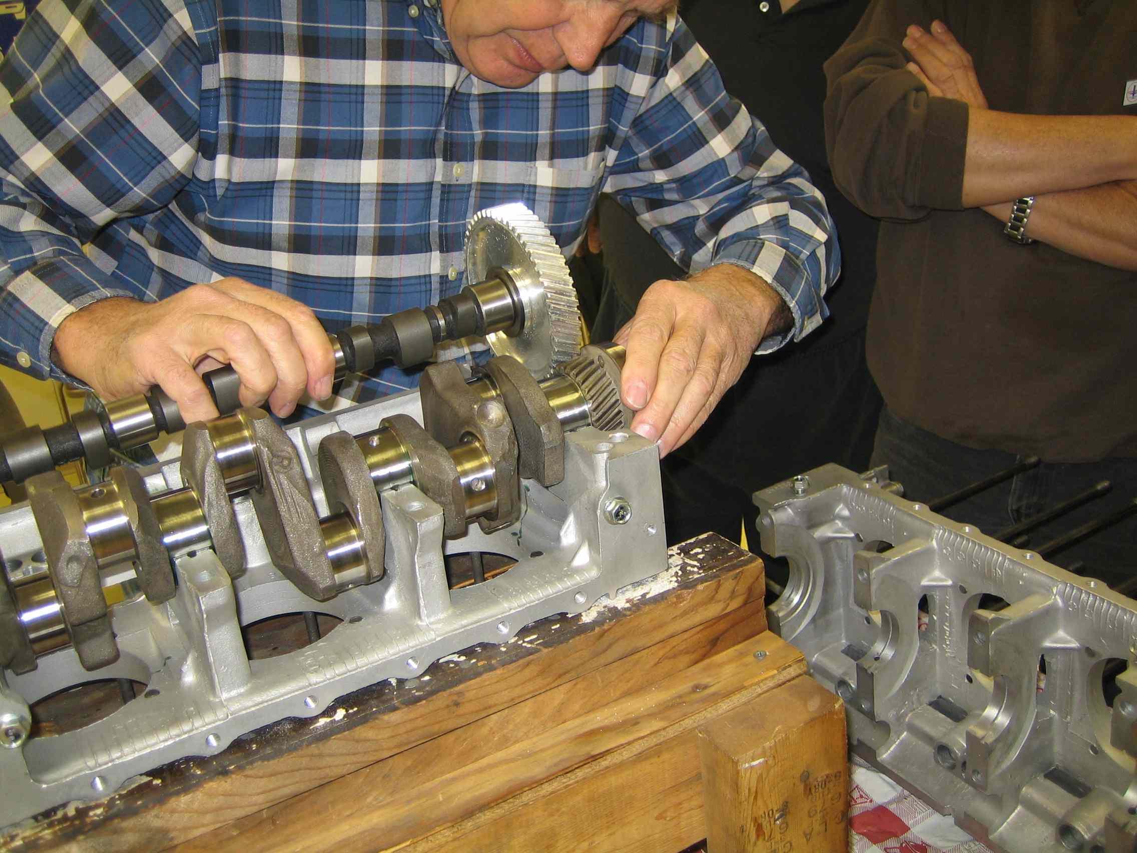 NJACE - Engine Rebuilding!