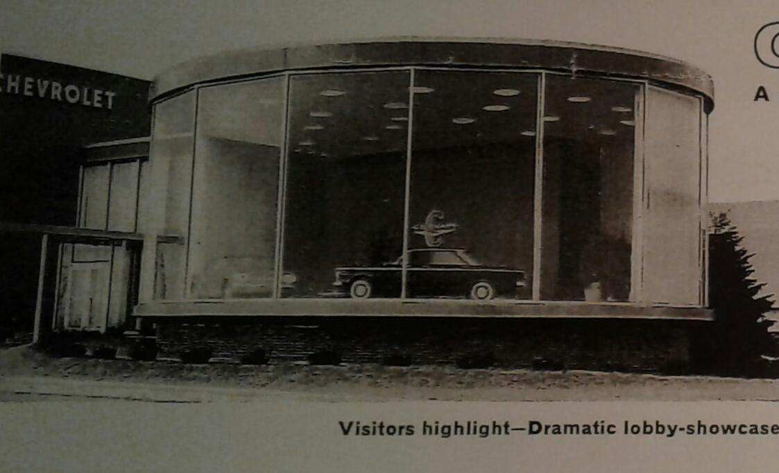 Photo #1 Early Corvair on the line from Willow Run brochure