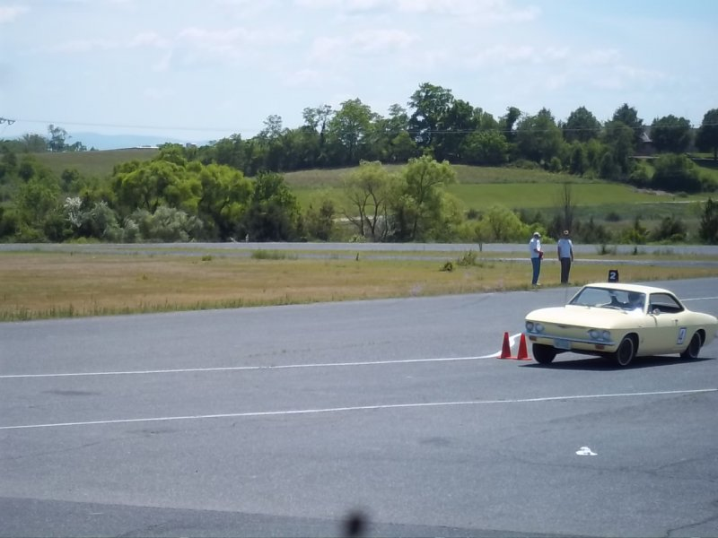 1st Place Stock Autocross 2012 VA Vair Fair