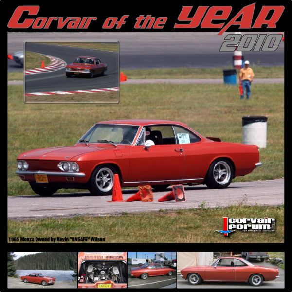 2010 Corvair of the Year