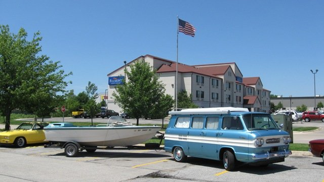 1965  Glaspar at CedarRapids, delivered to new owner.