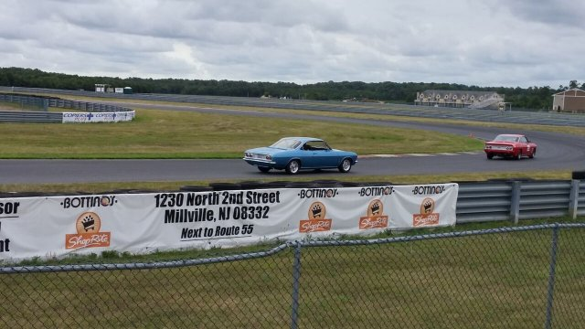 LeHeap on the track at NJMP