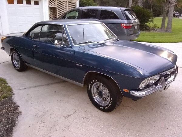CORVAIR 1969 COUPE 500