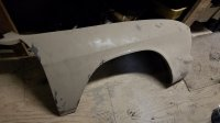 Fibergl late model front fenders
