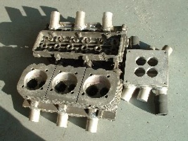 LeVair heads and manifold (94mm)