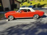 1962 Corvair Red/white top convertible