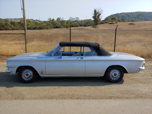 For Sale:  1962 Corvair Spyder Convertible