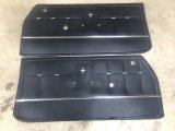 1966 Corsa Door Panels - Black (nice originals - pair)