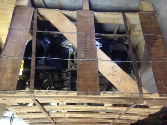 NOS Corvair 65-69 Factory Crate Engine 140hp