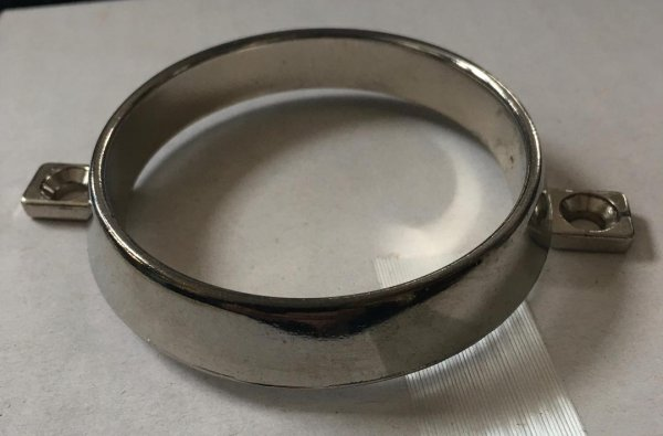(4) NOS 1964 Taillight Ornament Rings