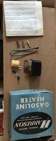 NOS Gas Heater Relay Kit