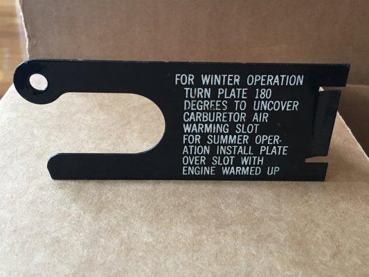 NOS Summer Winter Plate