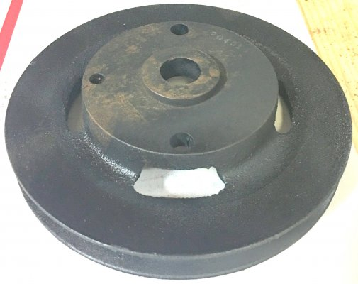 NOS AC Smog Pulley - Small one