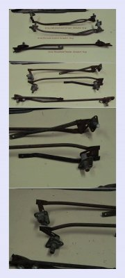 Windshield Washer Arm Assemblies - you choice - Sold as Each