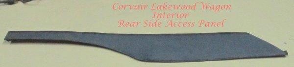 Corvair Station Wagon / Lakewood Side Rear Panel