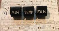 NOS Air Temp Fan knobs