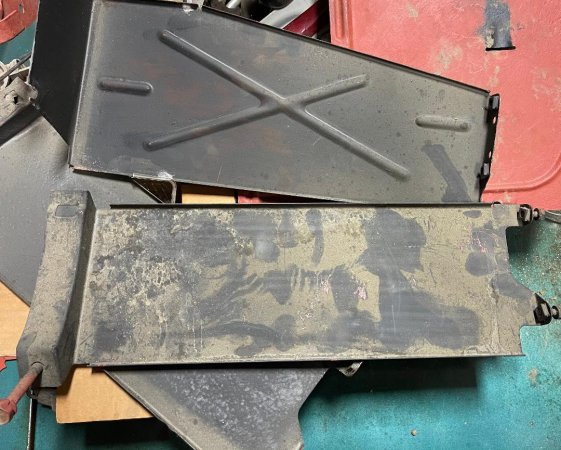 Muffler Heat Shields - 140hp and Regular - see pics