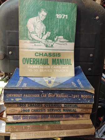 Shop Manuals Galore - need anything let me know