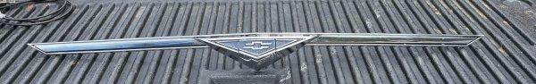 1966-69 Front Nose grill Assembly - nice survivor