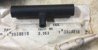 1962-66 TURBO RETURN GAS TEE -