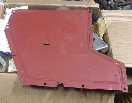 LATE MODEL SHORT TUNNEL COVER - USED - DRIVER QUALITY - NOT NO OR NEW -