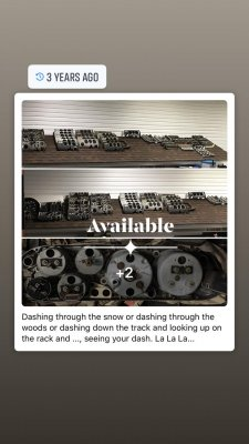 Need an instrument panel or part there of - let me know